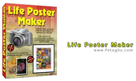 تهیه پوستر های زیبا و حرفهایی از عکسهای شما با Life Poster Maker v3.6a