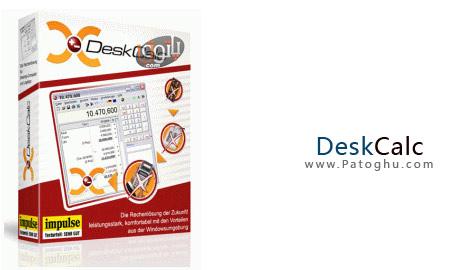 ماشین حساب کامل و حرفه ای به نام DeskCalc v5.2.0 Multilingual Portable