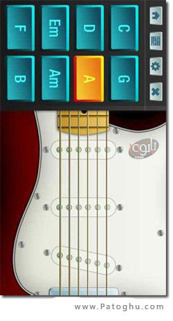 نرم افزار آکورد گیتار موبایل جاوا مخصوص نوکیا ورژن 5 - Guitar Chords