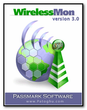 دانلود نرم افزار شبکه وایرلس و بیسیم - Passmark WirelessMon 3.1.1005