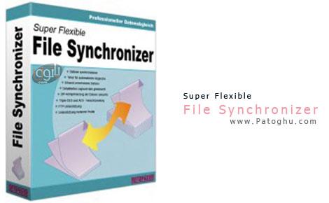 ابزاری برای تهیه backup از اطلاعات و همگام سازی با اطلاعات اصلی Super Flexible File Synchronizer 5.00