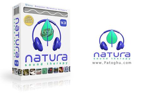 صداهای آرام بخش طبیعت با نرم افزار - Natura Sound Therapy 3.0