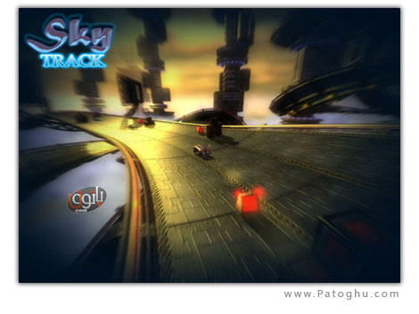 دانلود بازی پرتابل رالی ماشین سواری کم حجم - Portable Sky Track 1.0.1