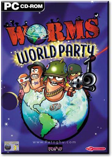 دانلود بازی استراتژیکی نبرد کرمها – Worms World Party