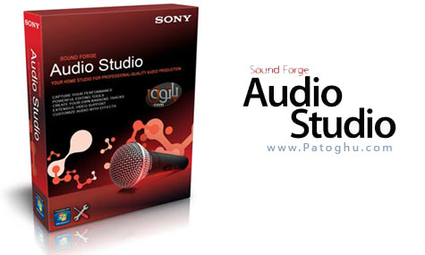 نرم افزار Sony Sound Forge Audio Studio