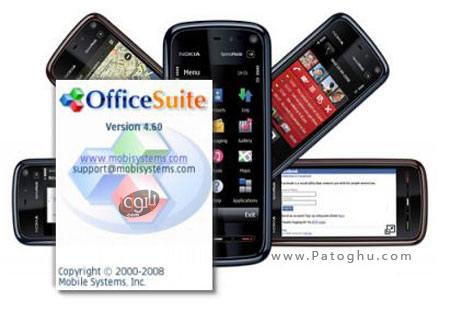 دانلود نرم افزار آفیس موبایل OfficeSuite v4.50 Signed