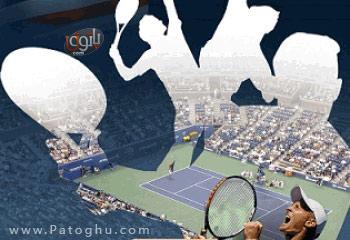 بازی لمسی تنیس برای سیمبیان ورژن پنج فرمت جاوا - Ultimate Tennis: Hard Court