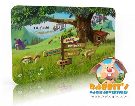 دانلود بازی کامپیوتری خرگوش جادویی - Rabbits Magic Adventures 1.0