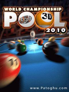 دانلود بازی بیلیارد با فرمت جاوا World Championship Pool 2010