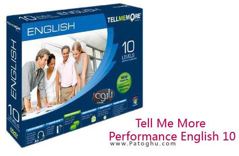 دانلود رایگان برترین نرم افزار آموزش زبان انگلیسی Tell Me More V10 English 10 Levels DVD