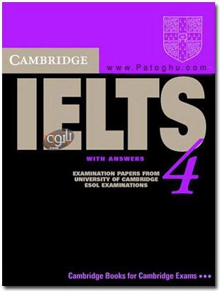 دانلود کتاب آموزشی آیلتس همراه با فایل های صوتی Cambridge Practice tests for IELTS 4