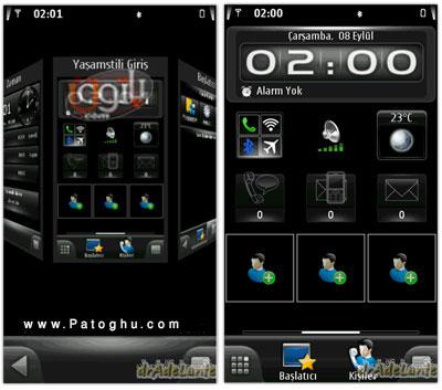 نرم افزار تغییرات کلی در موبایل با SPB MobileShell V3.07.598