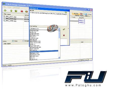 آپلود آسان فایل های شما در ۲۵۰ سرور با File & Image Uploader 5.7.0 (قابل حمل)