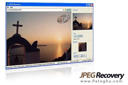 دانلود نرم افزار ترمیم عکس بعد از بازیابی JPEG Recovery Pro v5.0