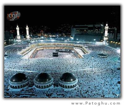 دانلود 2 تصویر سه بعدی و زیبا از خانه ی کعبه - Mecca Panorama