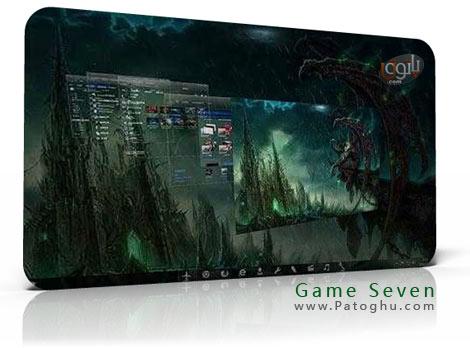 دانلود تم جدید و فوق العاده زیبای Game Seven برای ویندوز 7