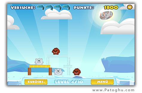 دانلود بازی کم حجم کامپیوتری جنگ پنگوئن ها - Pengu Wars v1.0.0.0
