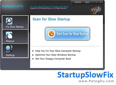 افزایش سرعت بالاآمدن ویندوز شما با StartupSlowFix v2.4