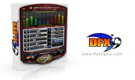 افزایش باورنکردنی کیفیت صدا برای پخش فایلهای موسیقی توسط داونلود نرم افزار DFX Audio Enhancer 10.138 Full از لینک مستقیم
