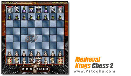 بازی شطرنج زیبا برای موبایل  Medieval Kings Chess 2