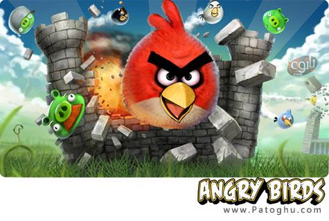 دانلود بازی کامپیوتری جدید و معروف پرندگان خشمگین - Angry Birds