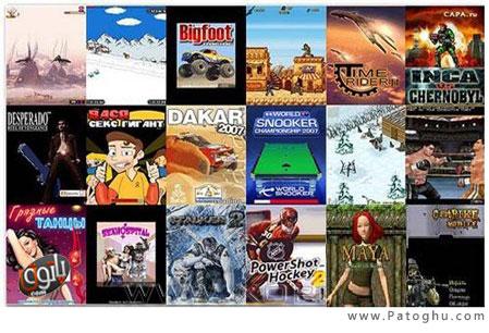 دانلود مجموعه بازی های پرطرفدار جاوا - 325 Java Games For Mobile