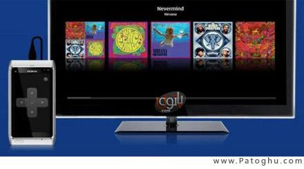 نرم افزار اتصال گوشی موبایل به تلویزیون - Nokia Beta Labs Big Screen v0.99 S.3