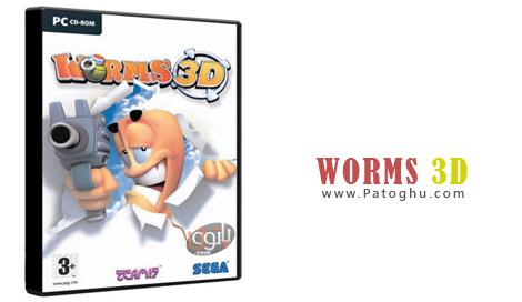 دانلود بازی کرم ها 3بعدی نسخه کامپیوتر - Worms 3D Portable