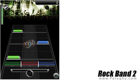 بازی جدید و بسیار زیبای Rock Band 2 برای موبایل