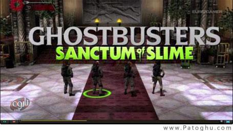 دانلود بازی هیجانی و کم حجم برای کامپیوتر Portable Ghostbusters Sanctum of Slime