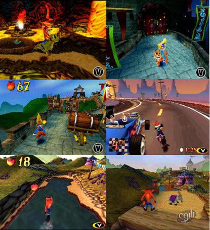 دانلود بازی کراش پیاده 3 سونی 1 برای کامپیوتر - Crash Bandicoot 3