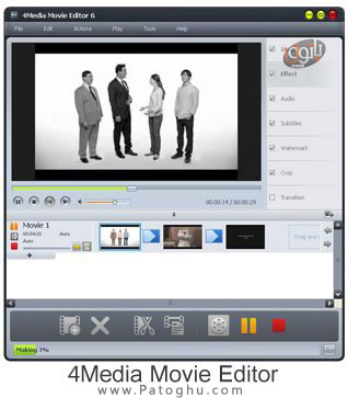 نرم افزار ثبت فیلم خاطرات – ۴Media Movie Editor v6.0.4