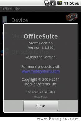 نرم افزار باز کردن فایل های فشرده در  نرم افزار آفیس حرفه ای اندروید Android Office