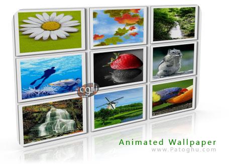 مجموعه تصاویر پس زمینه ی متحرک برای گوشی موبایل Animated Wallpaper