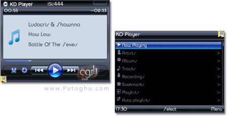 دانلود ويندوز مديا پلير 11 براي موبايل با فرمت جاوا Windows Media Player 11 Java