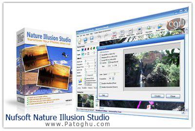 روح بخشیدن به تصاویر با Nufsoft Nature Illusion Studio v3.32.3.65