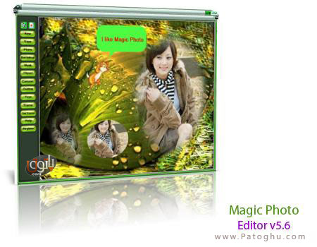 ساخت تصاویر رمانتیک با برنامه Magic Photo Editor v5.6