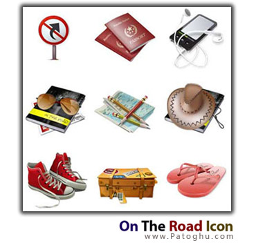On The Road Icons