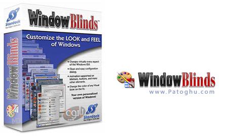 کاملترین نرم افزار تغییر چهره و زیباسازی ویندوز ایکس پی Stardock WindowBlinds 7.01 Build 247