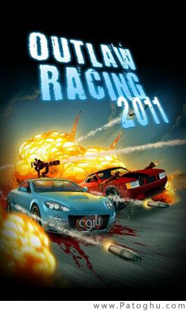 دانلود بازی جدید اتومبیل رانی با فرمت جاوا برای نوکیا - Outlaw Racing 2011