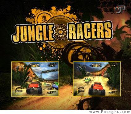 دانلود بازی کم حجم ماشین سواری در کوهستان برای کامپیوتر - Jungle Racers