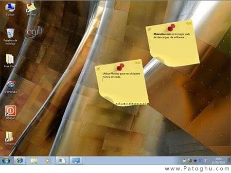 یادآوری امور روزانه با چسباندن یادداشت ها روی دسکتاپ - PNotes V8.0.110 Portable