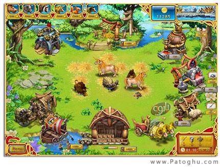 دانلود بازی بسیار مهیج مزرعه وایکینگ ها Farm Frenzy Viking Heroes