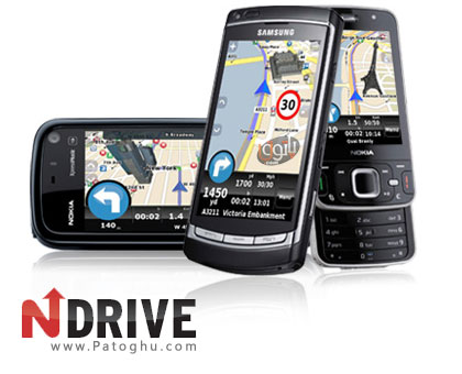 نرم افزار جی پی اس و مسیریاب برای موبایل آندروید - Ndrive
