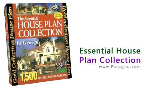 مجموعه 1500 پلان ساختمان Essential House Plan Collection