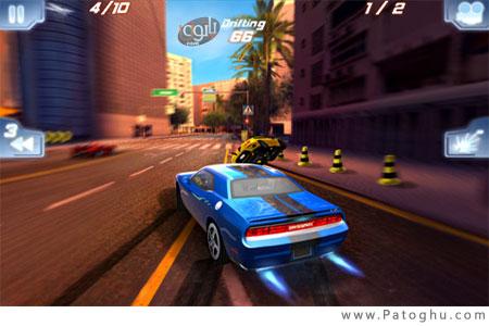 بازی مسابقات ماشین های پرسرعت برای سیمبیان - Fast And Furious 5 Official Movie