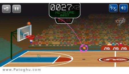 دانلود بازی بسکتبال جدید آندروید Basketmania 2.0