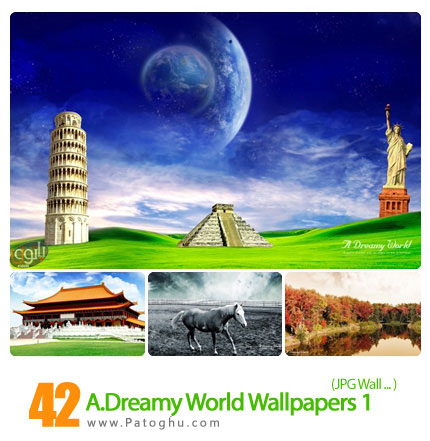 دانلود والپیپر جهان رویایی - A.Dreamy World Wallpapers 01