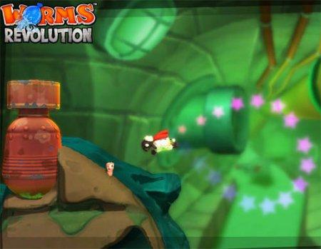 دانلود بازی بسیار مهیج انقلاب کرم ها - Worms Revolution 2012