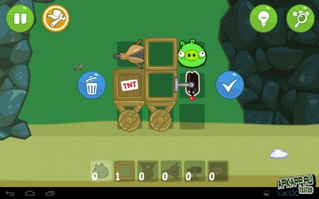 دانلود بازی بسیار مهیج خوک های بد Bad Piggies 1.5.1